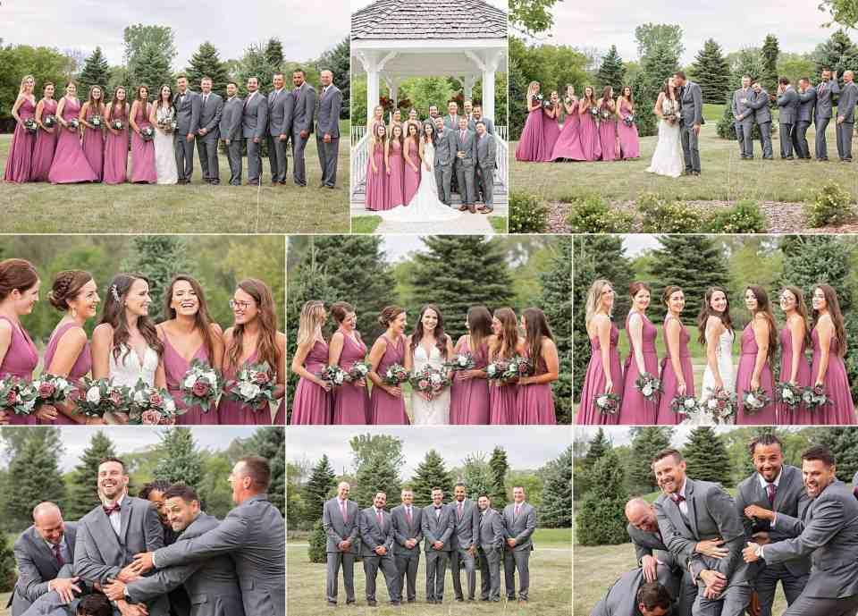 Wedding at Ingleside Hotel in Pewaukee, Wisconsin