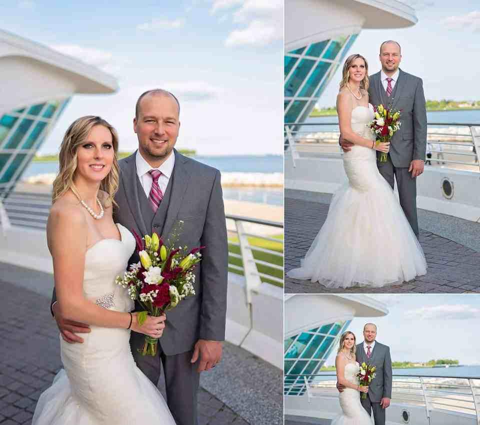 Discovery World Wedding in Milwaukee Wisconsin