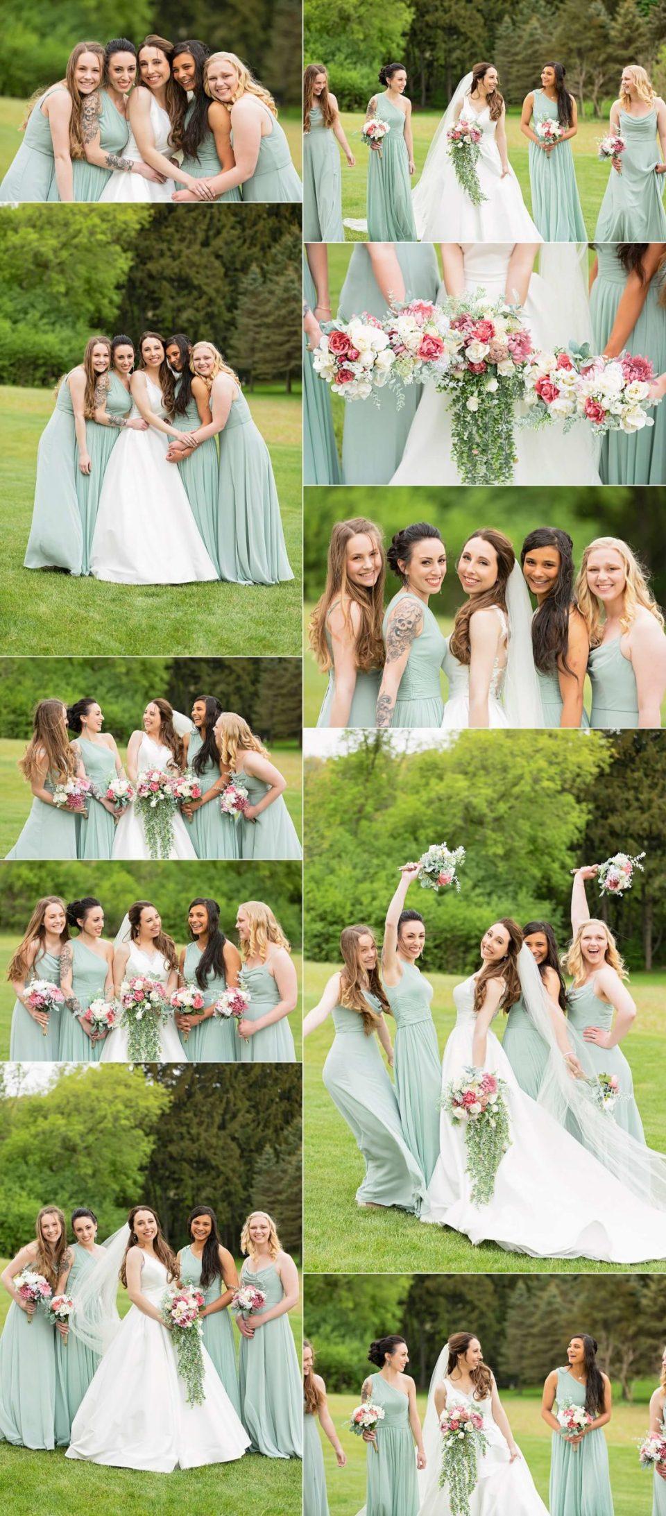 bridesmaids Lake-Country-Wedding-Hartland-WI