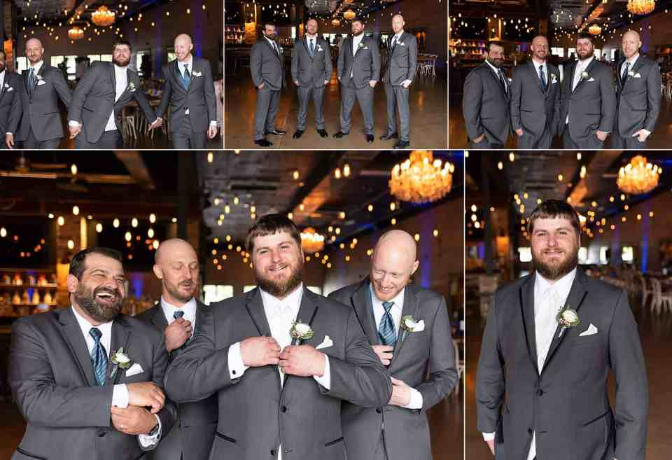 Wedding Portraits at Terrace 167 in Richfield, WI