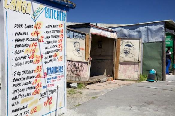 Shops in Langa Township, South Africa  (c) Allyson Scott