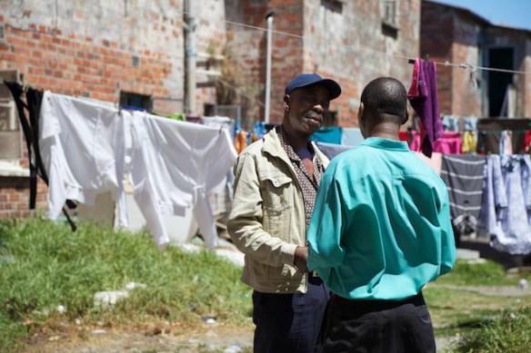Langa Township residents, South Africa  (c) Allyson Scott