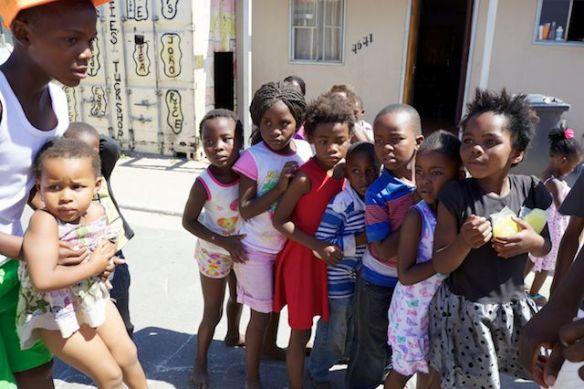 Children in Langa Township, South Africa  (c) Allyson Scott