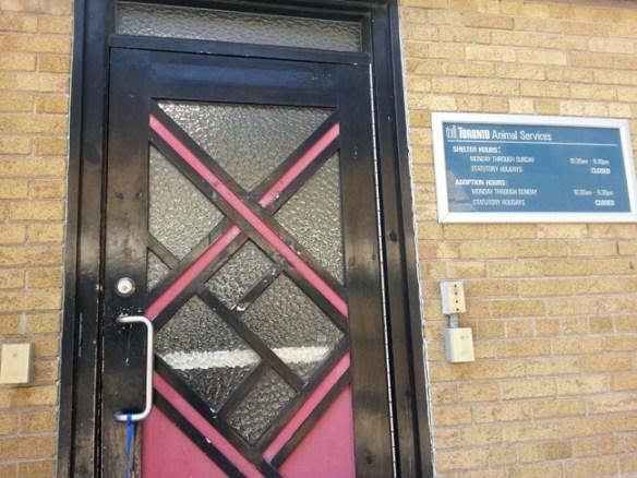 TAS door