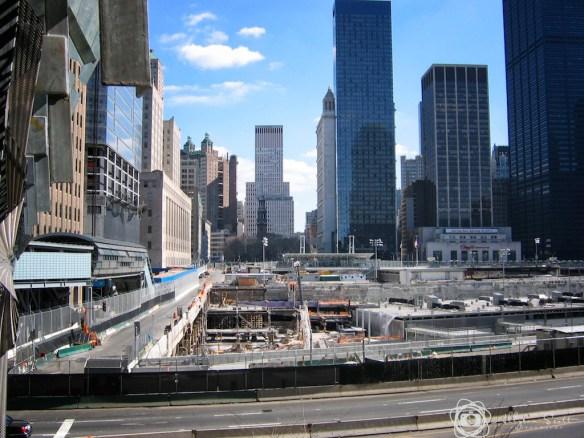 Ground Zero construction at World Trade Center site, Manhattan, New York