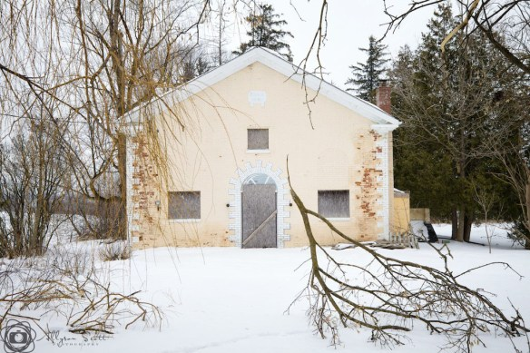 Derelict schoolhouse