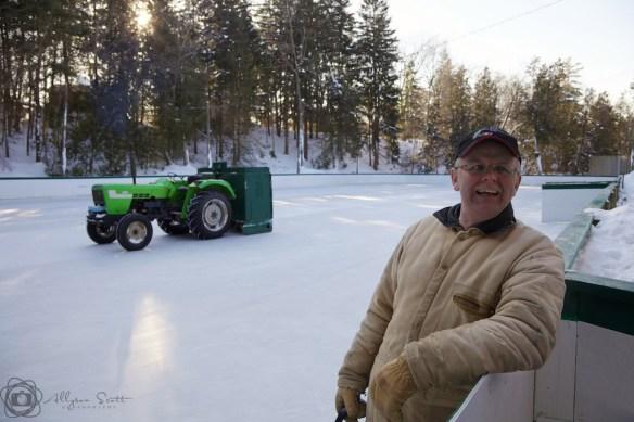 Cedarena Rink Manager Gary