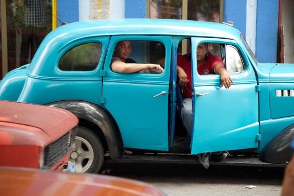 Taxi driver in Matanzas