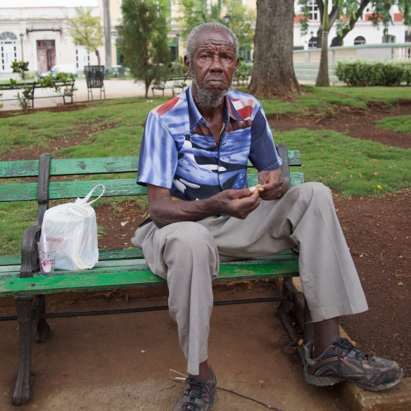 Cuban man in Matanzas