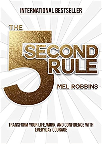 Listened to this one on audible and I highly recommend bc Mel's voice is great and you need the 'kick in the butt' she gives you in this book.