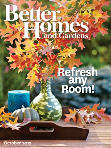 better homes gardens october 2013 digital edition. beautiful ideas. Home Design Ideas