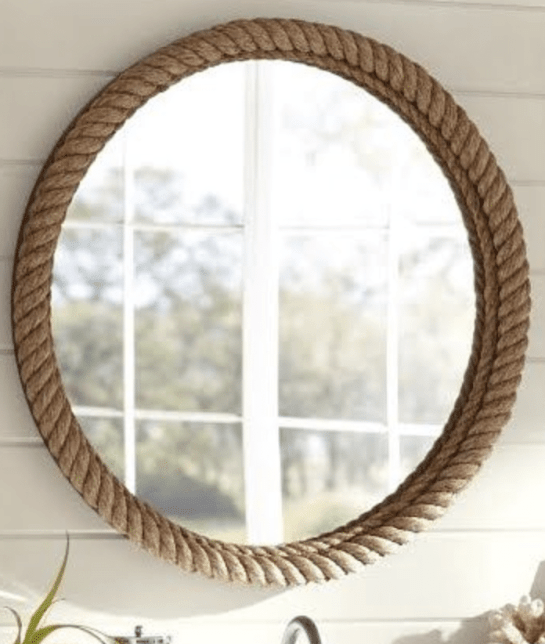 Coastal decor mirror