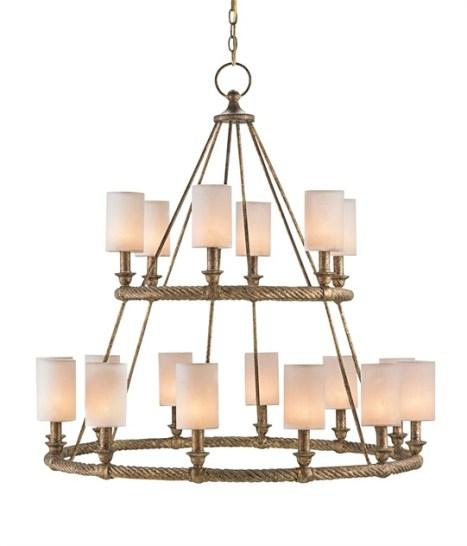 Two tier chandelier