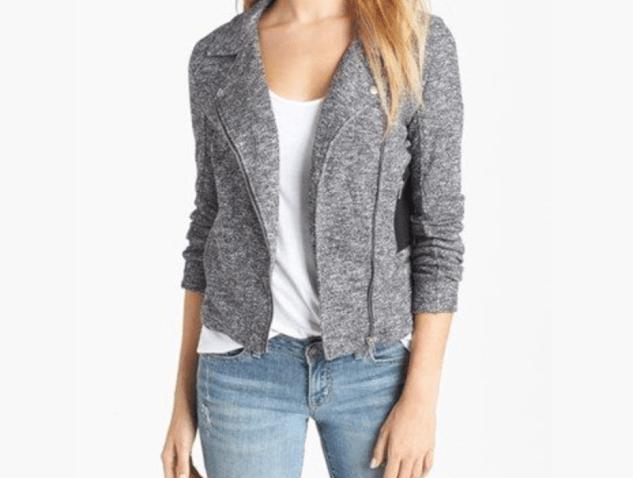 Grey fall jacket