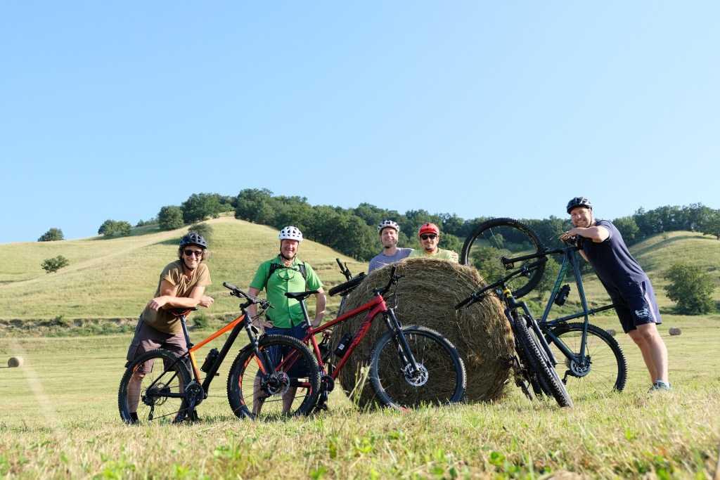Bike tours are an excellent way to travel Transylvania