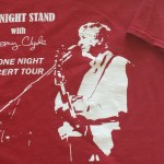 Limited edition shirt to commemorate the launch of the album.