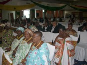 Traditional women leaders from Ghana known as Queen Mothers, in attendance at the Gender Justice Conference