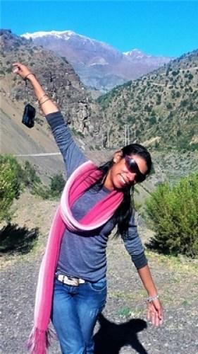 Cordillera de los andes -Embalse de Yeso