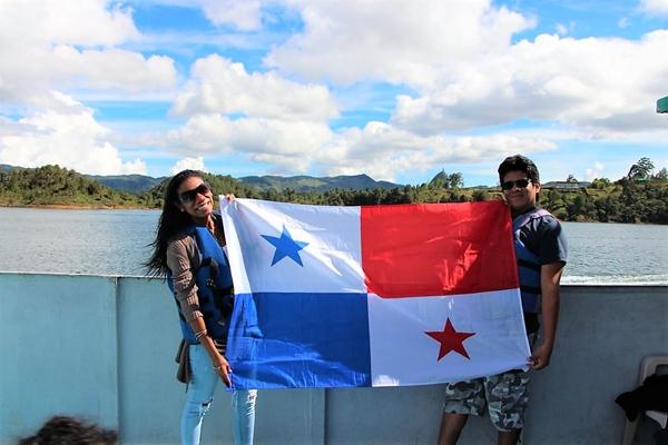 Visita al lago Guatapé