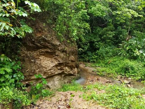 Lugar de extracción de la piedra Jabón
