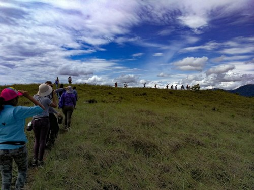 Senderismo en el Cerro Colorado