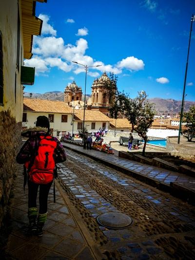 Llegamos a Cusco - Perú