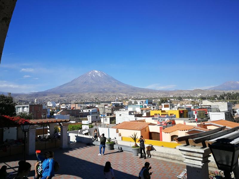Mirador en Arequipa