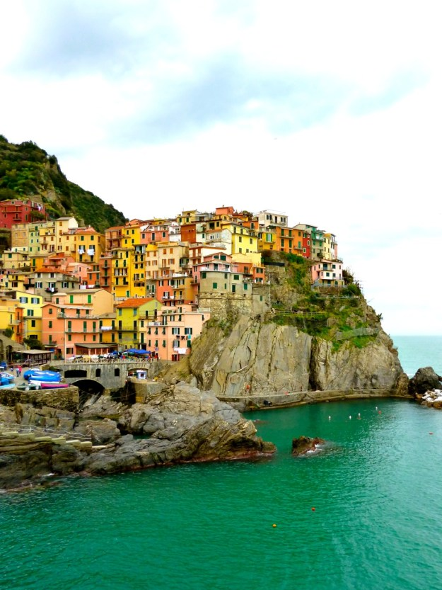 Making time for reflection.  Enjoying the delights of Cinque Terre in Italy.