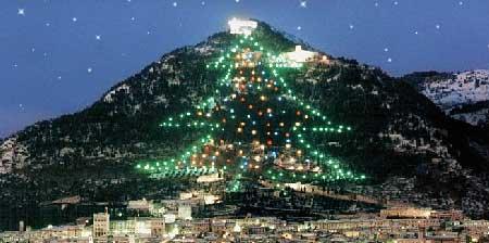 Árbol de Navidad de Gubbio (Italia)