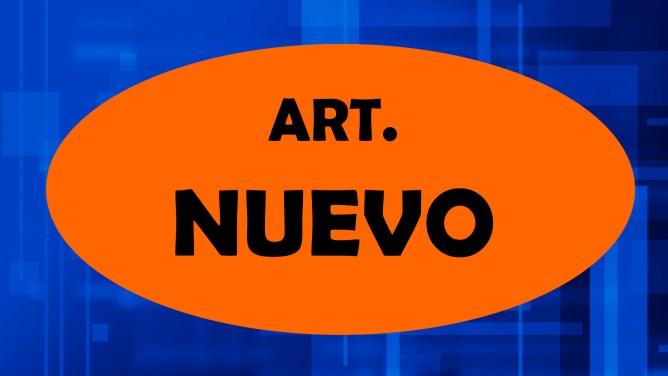 ARTÍCULOS NUEVO