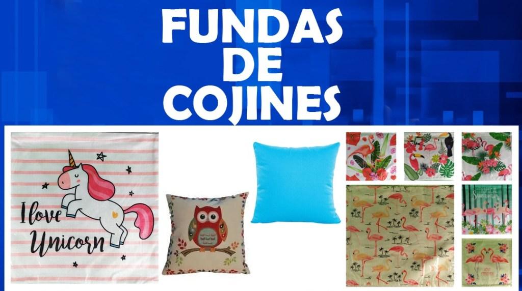 FUNDAS DE COJINES