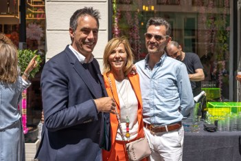 André Leja, Christine y Matthew © La Siesta Press / J. Fernández Ortega