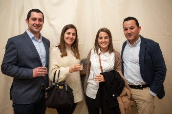 Javier Moreno, Monica Gomila, Carolina Gomila Y Pablo Jaén (Empresa Molina)