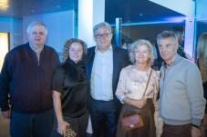 Rafael Roig junto a su mujer, Antonia Binimelis, Jaime Munar (de Porsche) y hermano y la cuñada de Roig