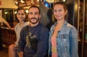 Erica Magariños, Julen Falla y Florencia Alvarez