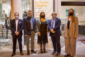 Josep Mallol , Pep Ramón Cerdá, Isabel Maria Busquets y Patricia Gómez
