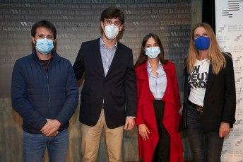 Bernard Company, Alberto Lliteras, Cristina Sastre y Joana Solivellas