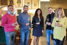 Jose Carrillo, Eva Martínez, Jose Miguel Proenza, Alvaro Migues y Catiana Gotarredona