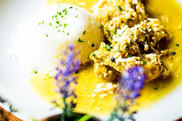 Pollo en pepitoria de la Señá Nieves