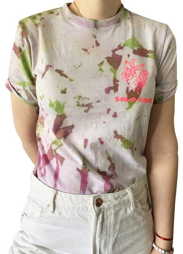 """Camiseta tie dye """"solo amor"""""""