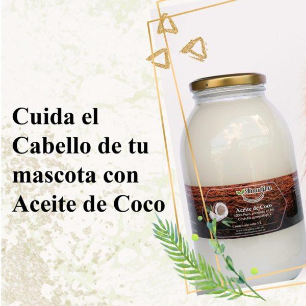 Cuidado del cabello con aceite de coco