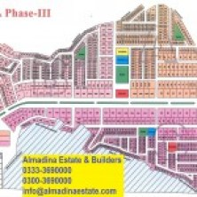 Dha Phase 3 islamabad Map