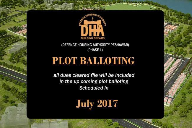 DHA-Peshawar-Balloting-Announced