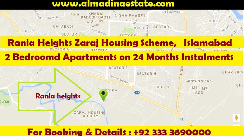 Rania Heights Zaraj Housing Scheme, Islamabad