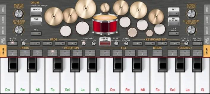 تطبيق العزف