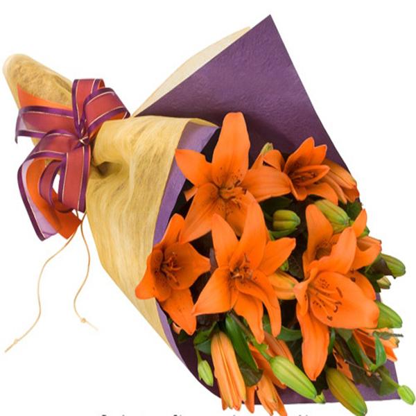 Bouquet Fiamma. Floristería ALMA FLORAL Bogotá
