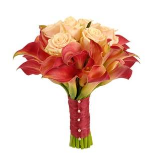 bouquet minicalla Floristeria Alma Floral