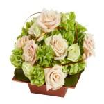Centro de mesa rosas 02. Floristeria ALMA FLORAL