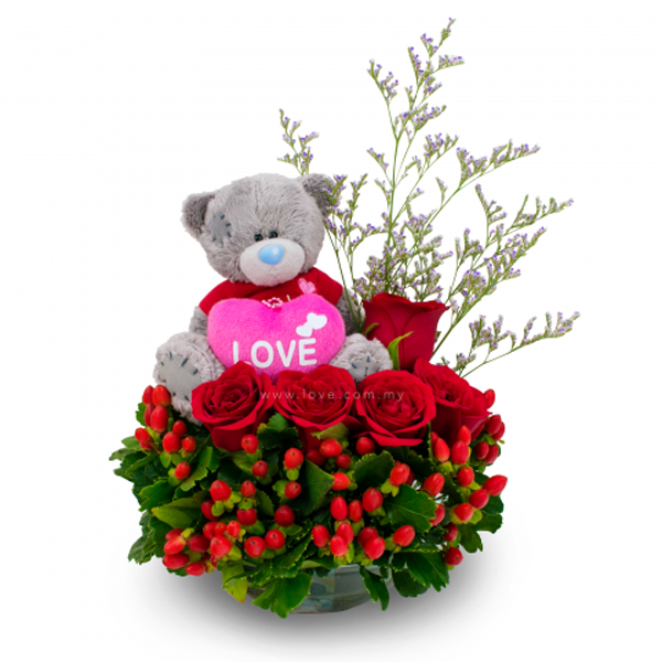 Bear Love- Floristería Bogotá ALMA FLORAL