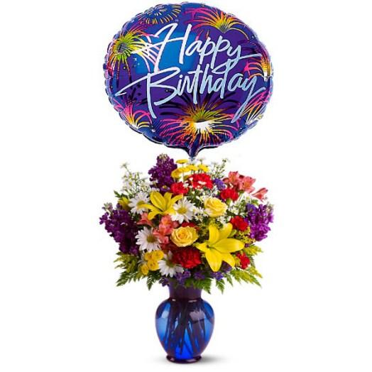 Flores y regalos para cumpleaños Floristería ALMA FLORAL Bogotá